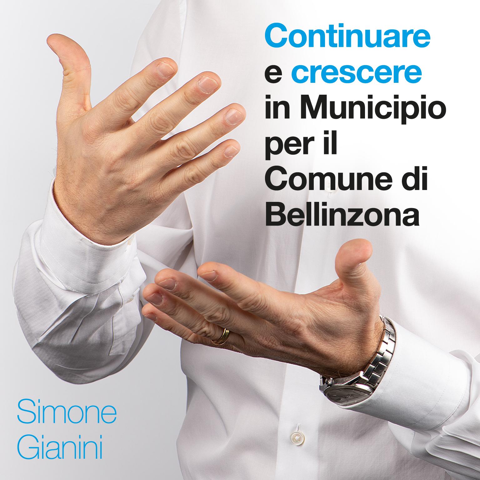 Le mie priorità per il Comune di Bellinzona